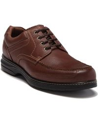 Johnston & Murphy Windham Moc Toe Shoe - Multiple Widths Available - Brown