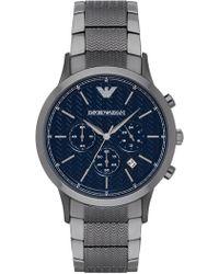 Emporio Armani - Men's Renato Chronograph Watch, 43mm - Lyst