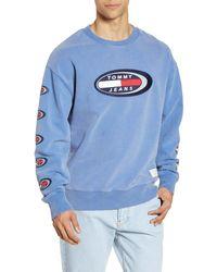 Tommy Hilfiger Men/'s Deep Knit Black Brooks Logo Print Pullover Hoodie