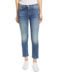 RE/DONE Originals '50s Cigarette Jeans - Blue