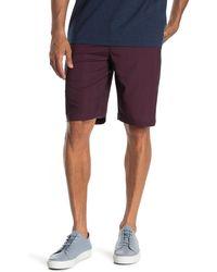Travis Mathew Loreto Stripe Stretch Shorts - Multicolor