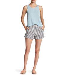 Lush - Stripe Shorts - Lyst