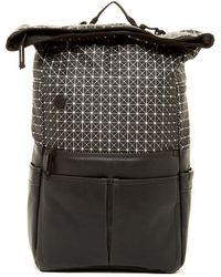 Focused Space - The Geometric Rolltop Backpack - Lyst