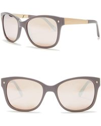 Fossil - Rectangular Cat Eye Sunglasses - Lyst