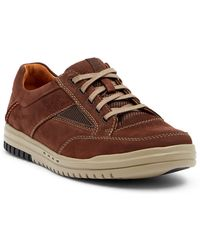 Clarks - Unrhombus Go Nubuck Sneaker - Lyst