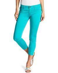 Big Star - Alex Cropped Mid Rise Skinny Jeans - Lyst