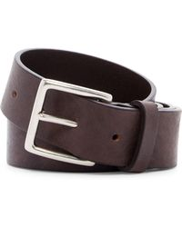 Frye - Campus Leather Belt - Lyst