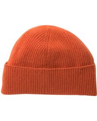 Portolano - Ribbed Cashmere Hat - Lyst