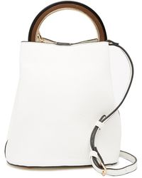 Urban Expressions - Vegan Leather Ring Handle Bucket Bag - Lyst