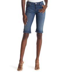 Hudson Jeans Viceroy Bermuda Shorts - Blue