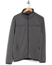 Tahari Tech Zip Pocket Jacket - Gray