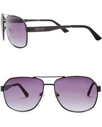 Kenneth Cole Reaction - Women's Metal Oversized Square Sunglasses - Lyst