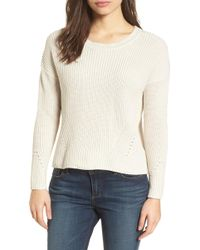 Lucky Brand - Lace-up Back Jumper - Lyst