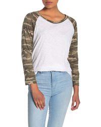 Caslon Lightweight Raglan T-shirt (regular & Petite) - White