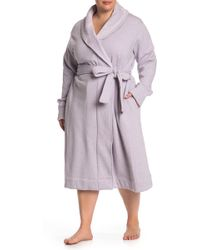 UGG - Duffield Belted Robe (plus Size) - Lyst