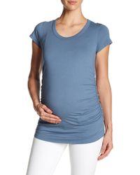 Lamade Kristina Tee (maternity) - Blue