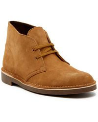 Clarks - Bushacre 2 Suede Chukka Boot - Lyst
