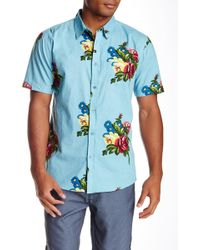 Imperial Motion | Province Short Sleeve Woven Regular/slim Fit Shirt | Lyst