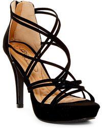 Elegant Footwear - Hylda Platform Sandal - Lyst