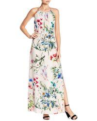 Karen Kane - Floral Maxi Dress - Lyst