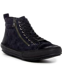 John Varvatos - Star R Zip Hi-top Sneaker - Lyst
