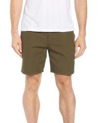Tavik - Collins Canvas Shorts - Lyst