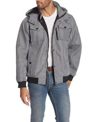 Ben Sherman Soft Shell Jacket - Gray