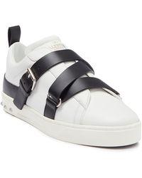 Valentino Garavani Crossover Buckle Strap Sneaker - Multicolour