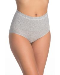 Yummie By Heather Thomson Seamless High Waisted Brief - Gray