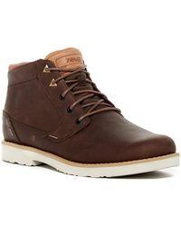 Teva Durban Leather Boot - Brown