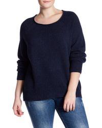 NAKEDCASHMERE - Leila Raglan Cashmere Sweater (plus Size) - Lyst