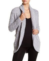 Honeydew Intimates Novelty Knit Cardigan - Gray