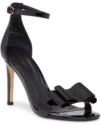 Joie - Akane Patent Leather Stiletto Sandal - Lyst