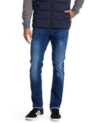 "Lindbergh - Slim Fit Jeans - 32-34"" Inseam - Lyst"
