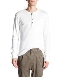 Lindbergh - Granddad Long Sleeve Pullover - Lyst