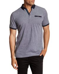 Lindbergh - Contrast Polo - Lyst