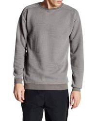 Lindbergh - Long Sleeve Knit Sweatshirt - Lyst