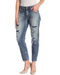 AG Jeans The Ex-boyfriend Slouchy Slim Jeans - Blue