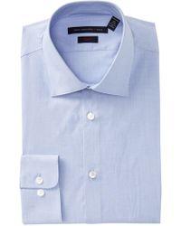 John Varvatos - Soho Slim Fit Dress Shirt - Lyst