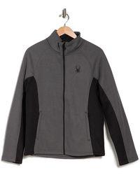 Spyder Steller Full Zip Front Jacket - Black