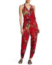 Green Dragon - Shirred Bottom Jumpsuit - Lyst