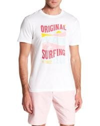 Original Penguin - Surfing Club Print Tee - Lyst