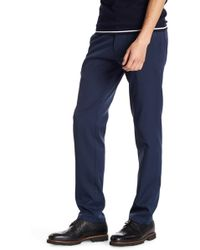 Kenneth Cole Reaction - Slim Fit Solid Pant - Lyst
