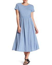 Lush - T-shirt Midi Dress - Lyst
