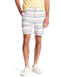 Original Penguin - Colorblock Stripe Shorts - Lyst