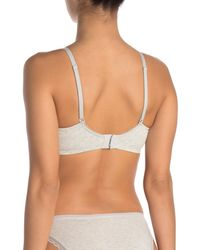 On Gossamer Cabana Cotton Blend Convertible Underwire Bra - Multicolor