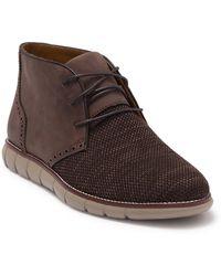 Johnston & Murphy Holden Knit Chukka Boot - Brown