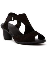 Arche | Elexus Nubuck Leather Sandal | Lyst