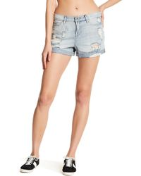 Articles Of Society | Jimmy Distressed Short | Lyst