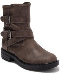 Report Natalia Strap Buckle Boot - Brown